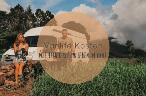 Vanlife Kosten | Was kostet das Leben im Van?